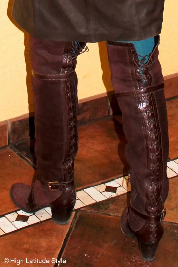 #Dior #OTKbootsover40 101 reasons to wear heels  @ High Latitude Style