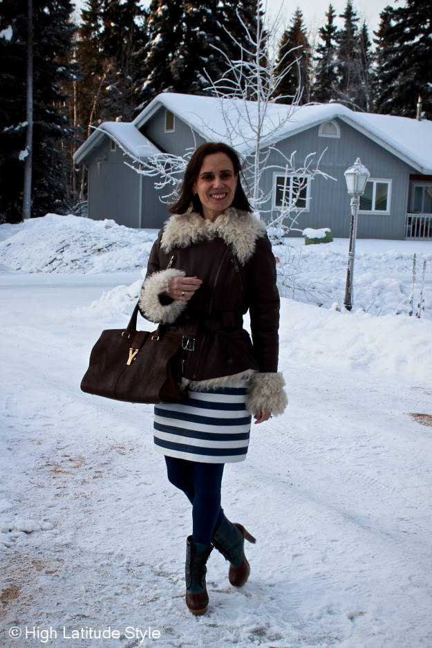 blogger style layering clothes shells for a winter outfit