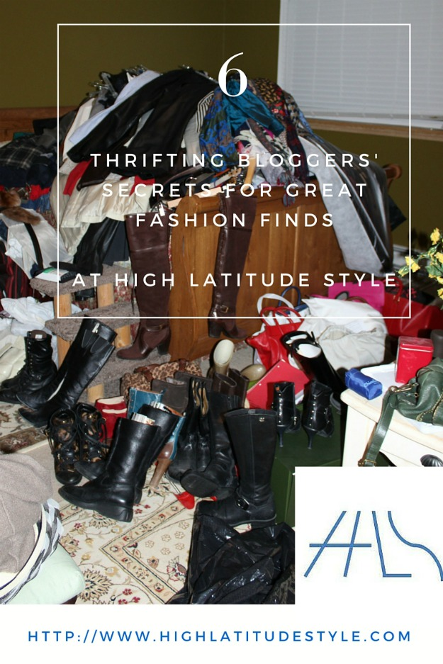 thrifting fashion over 40