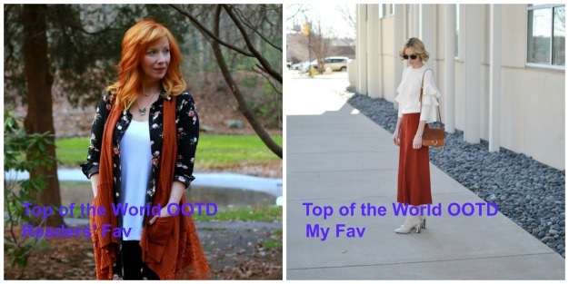 #fashionlinkup Top of the World OOTD Readers' Fav and My fav at the Top of the World Style linkup party