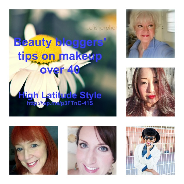 #beautyBloggers share their secrets on makeup for 40+