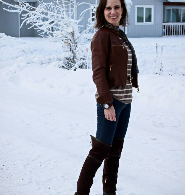 #fashionoverforty weekend outfit in Focus #Alaska #travel @ http://www.highlatitudestyle.com