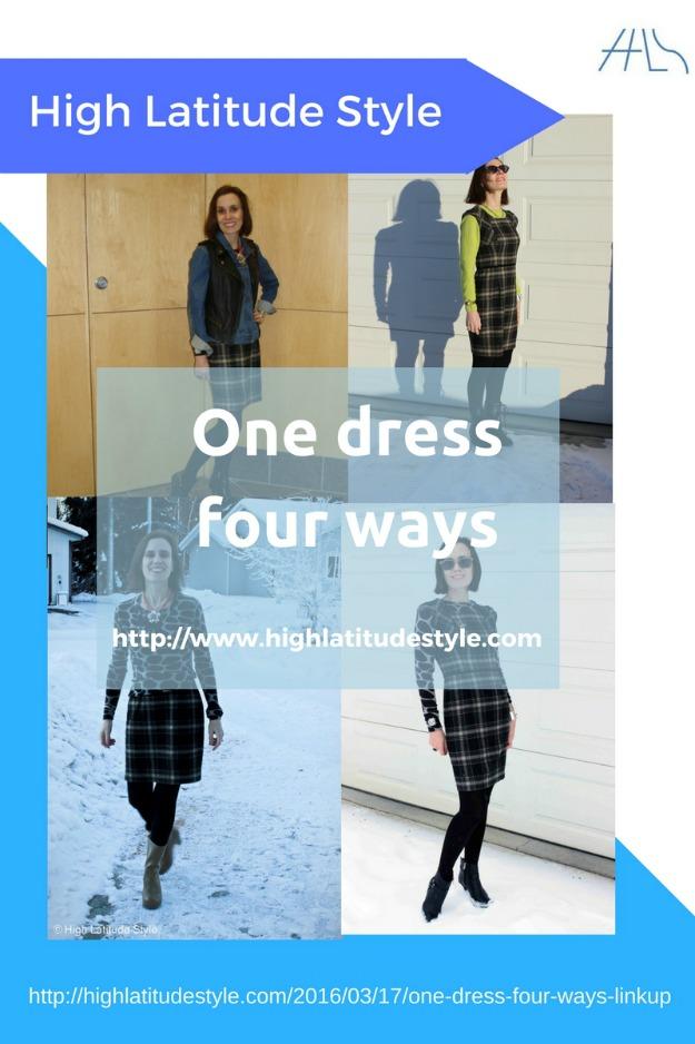 fashion over 40 One dress four ways
