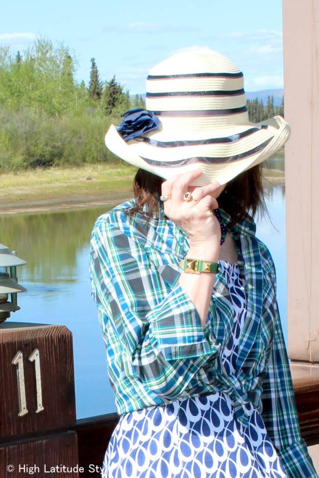 #maturefashion Hat