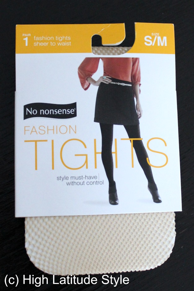 fashion tights sheer to waist in package