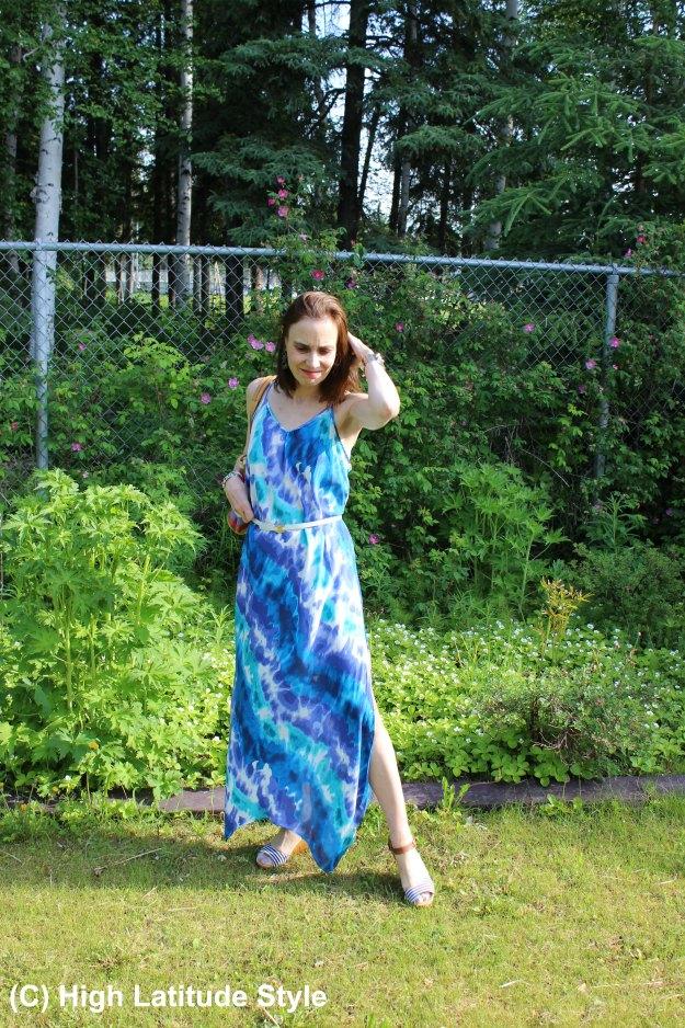 #fashionover40 Beach vacation dress c/o Hawaiian Tropic Apparel review at http://wp.me/p3FTnC-4Vr
