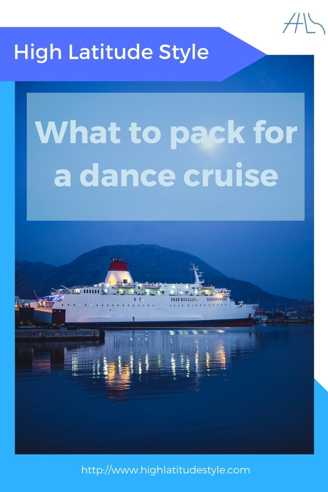 What to pack for a dance cruise