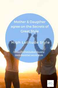 Read more about the article Mom & Daughter Bloggers Agree on the Secrets of Great Style