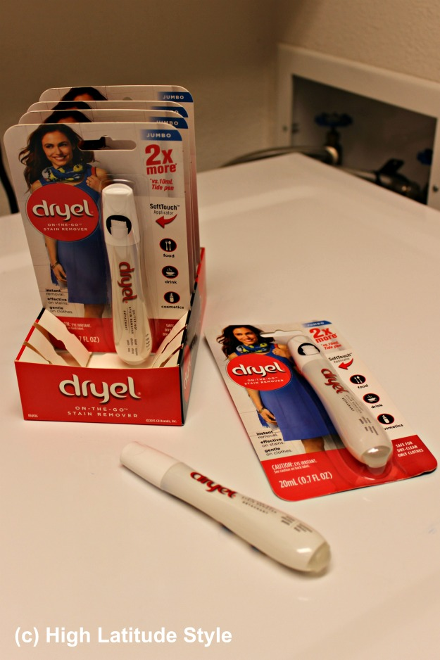 #iDryel Dryel dry cleaning pens for delicate clothes requiring dry cleaning