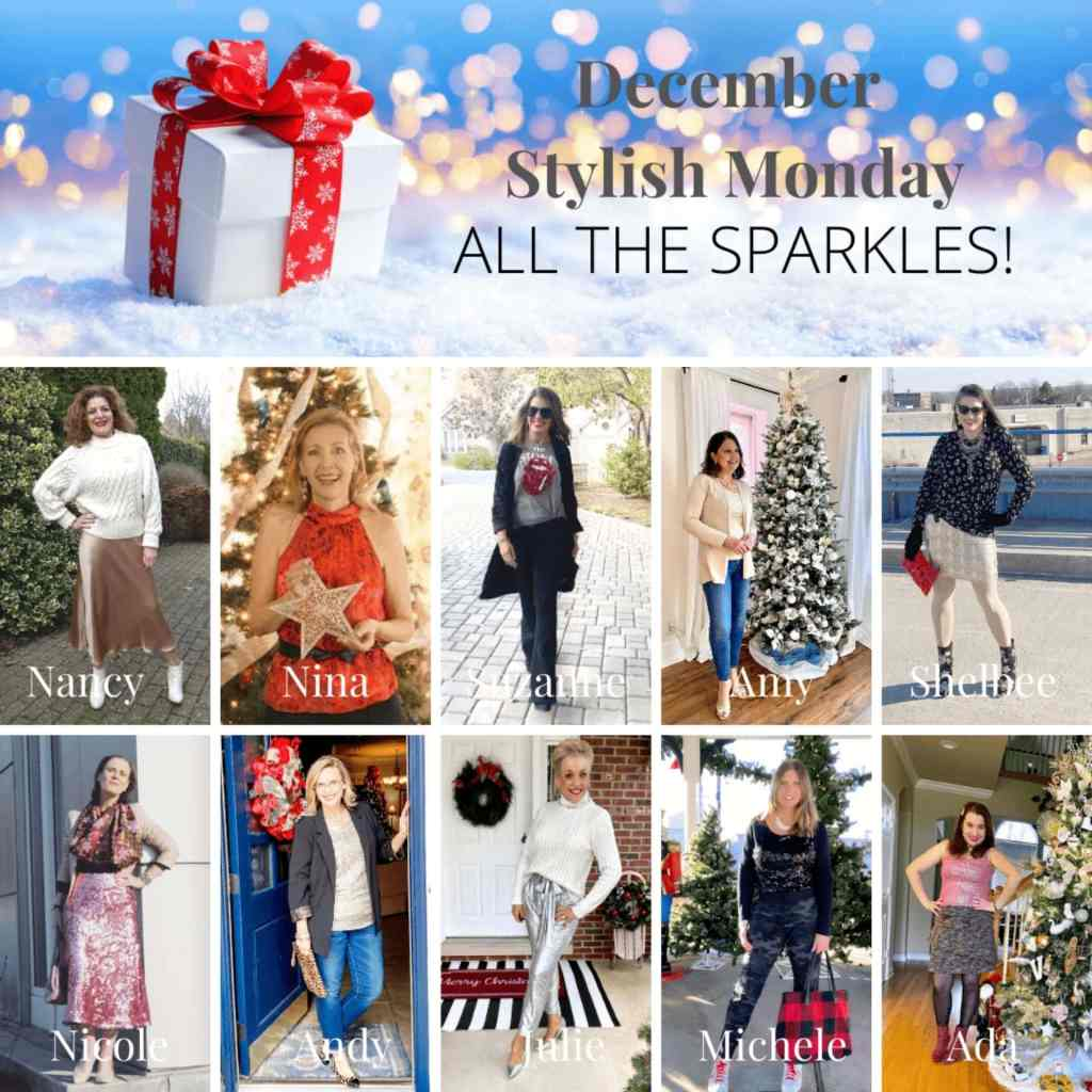 hostesses of the stylisph monday sparkle linkup party