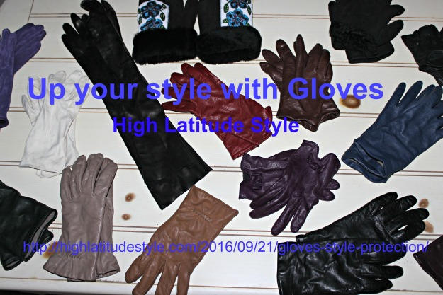 collection of gloves for various occassions