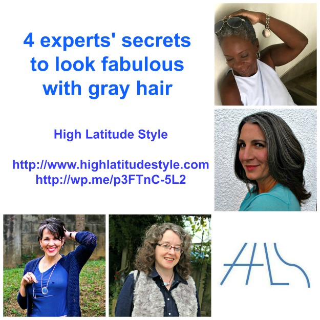 #goinggray gray hair experts' secrets for great gray hair