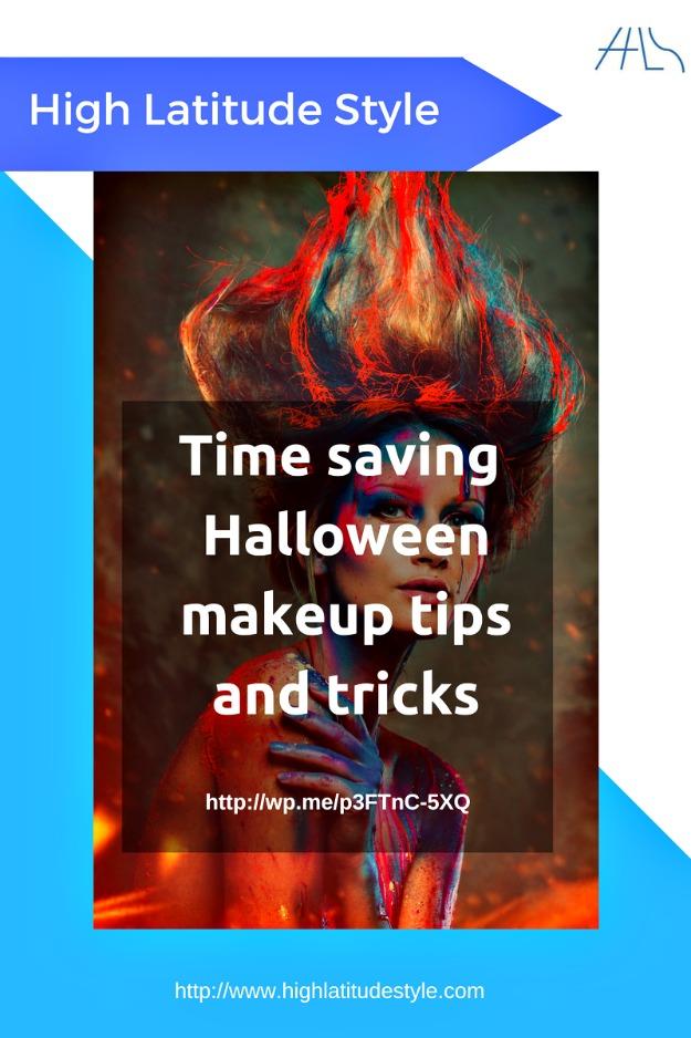 Halloween makeup tricks and tips