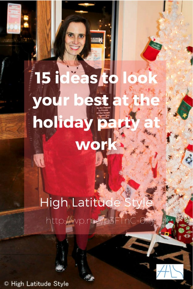 #holidays 15 ideas to look your best at the holiday party at work