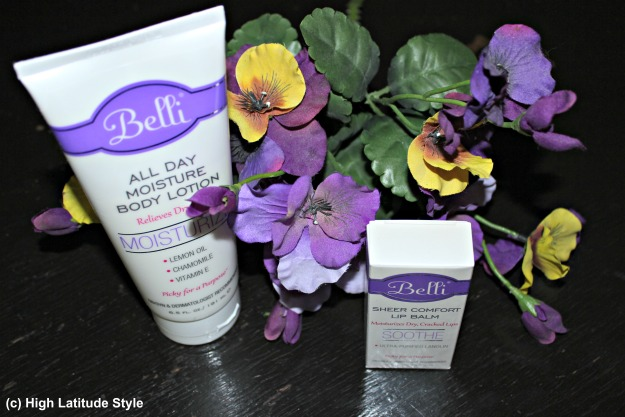 #beautyover40 all day moisture body lotion and sheer comfort lip balm