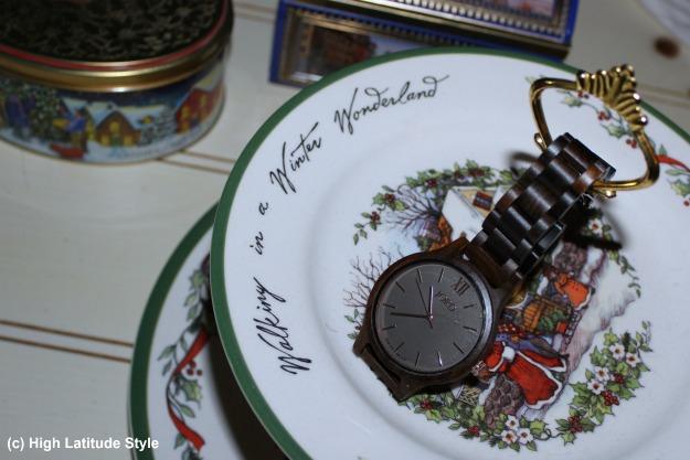 #uniquewatch Frankie dark sandalwood and smoke wood watch