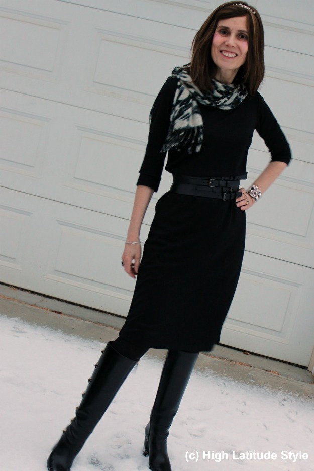 #maturefashion woman in work outfit CoveredPerfectly