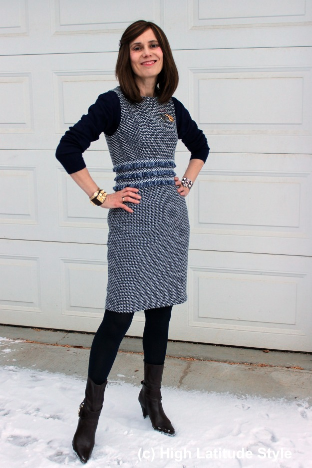 Is a Shein Chanel-Inspired Sheath Dress Worth It? (Review)