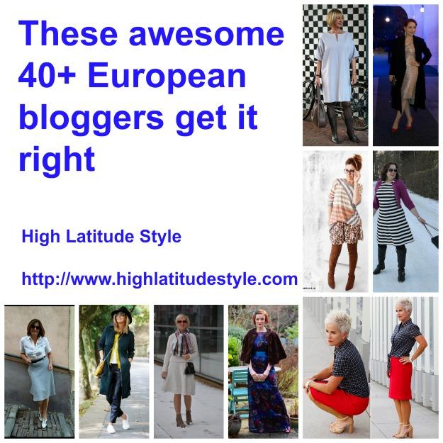fashion over 50 Nine awesome European fashion and style bloggers