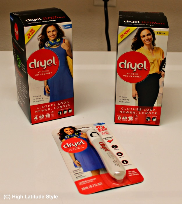iDryel Dryel starter kit, refill, and dry cleaning pen