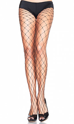 Found fashion bloggers' It fence pantyhose at 3 Wishes