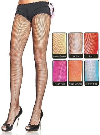 #agelessstyle fishnet pantyhose in black