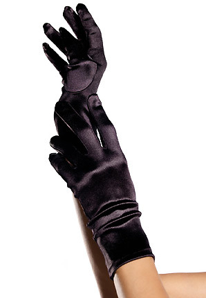 fashiontrends trendy satin wrist length gloves