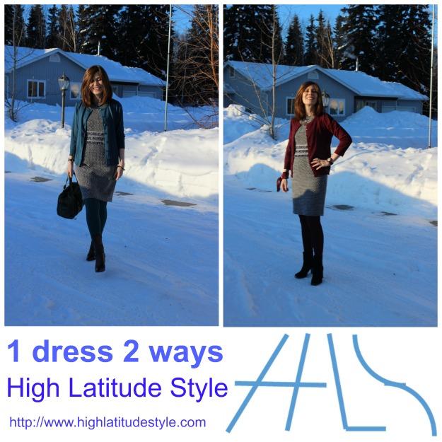#fashionover40 1 dress 2 looks styling ideas