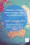Maritime continent fashion bloggers (40+) you should know