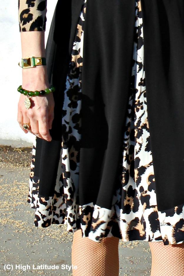 #jewelryover40 accessories bracelet watch fishnets