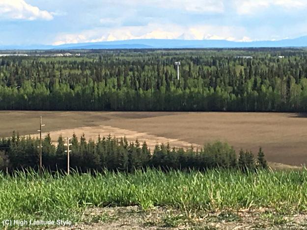 Hayes Range as seen from West Ridge