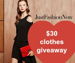 Just Fashion Now giveaway