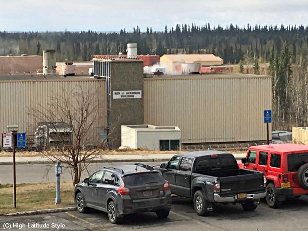 College, Alaska power plant