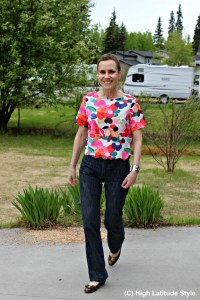Read more about the article Styling a cropped top over 40