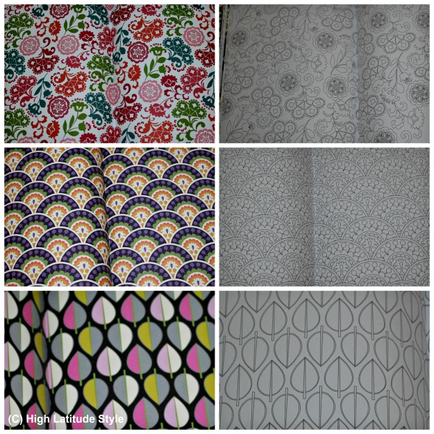 coloring inspiration and pattern