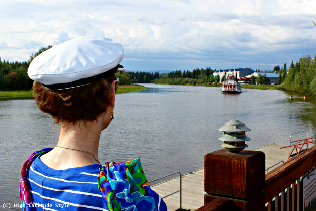 Alaska travel Chena is a favorite place for recreation in summer and winter