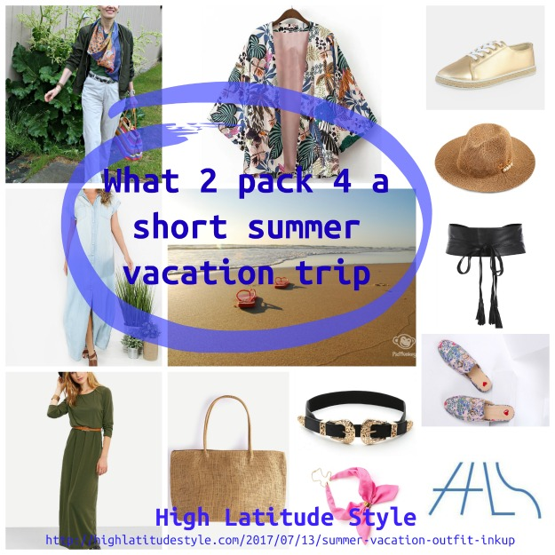 Short summer vacation outfit ideas