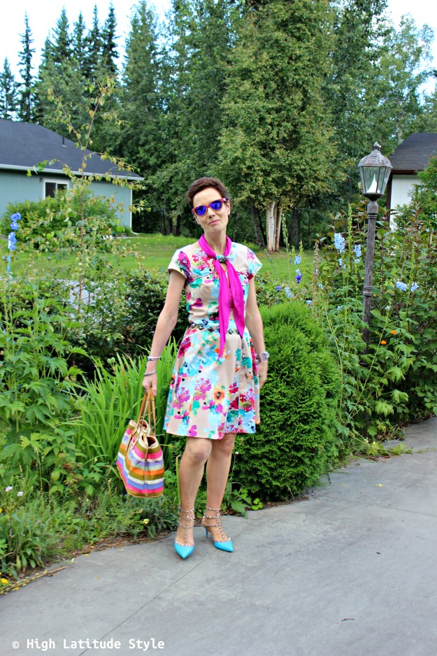 fashion over 50 woman in work outfit