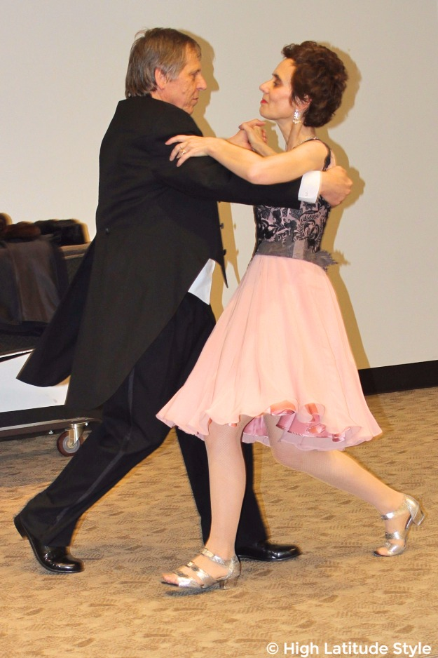 #formalstyle couple dancing in formal wear