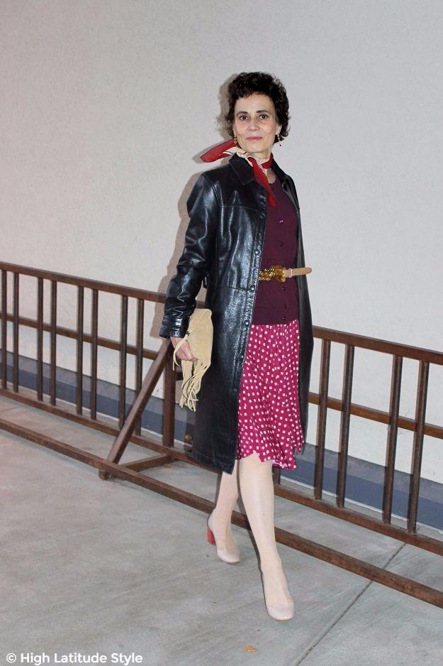 posh chic woman over 50