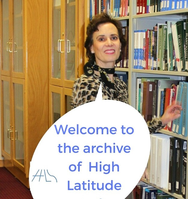 High Latitude Style Archive welcome note