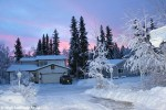 See Why Light Is Pink in Fairbanks in January