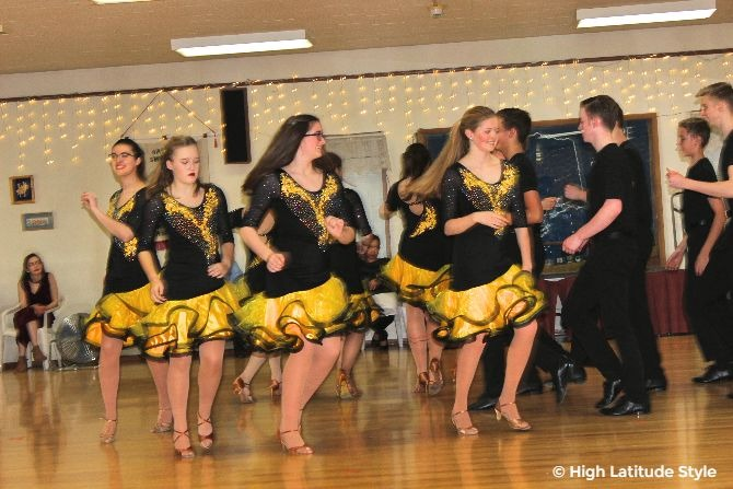 #Alaska #Lifestyle Lathrop High School Dance Team performing a salsa