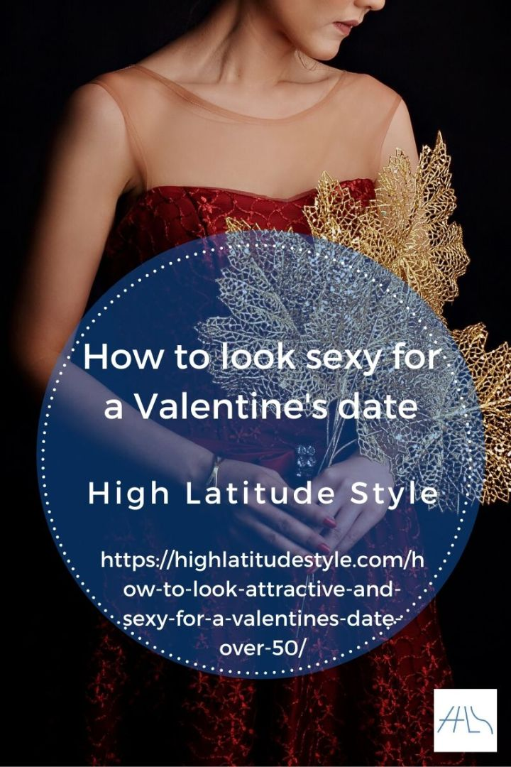 post logo for how to dress sexy for Valentine's Day showing a sexy woman