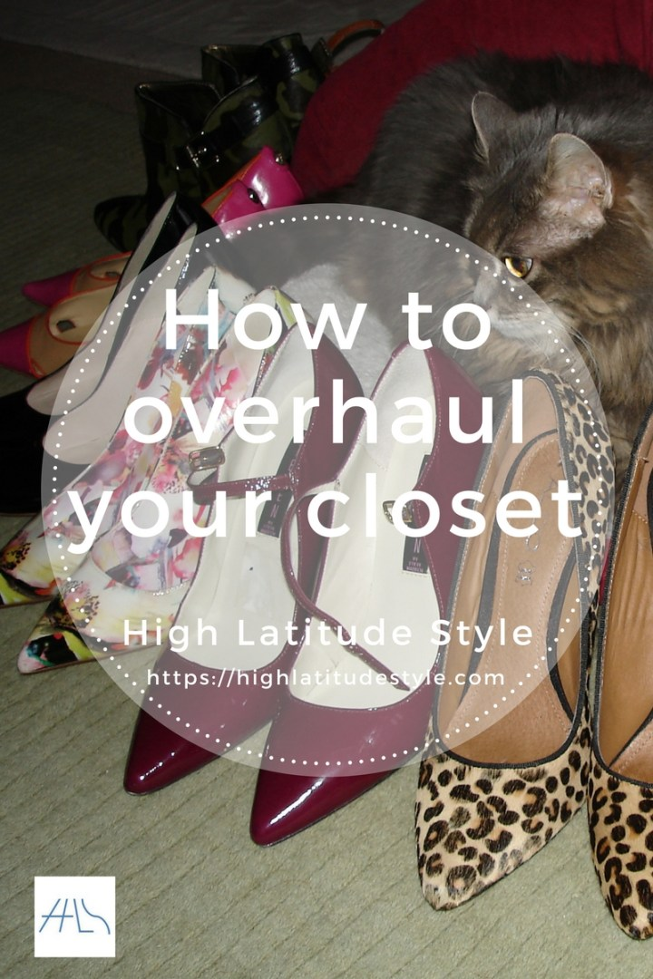 #fashion how to overhaul your closet banner