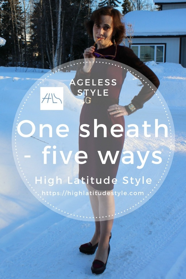 How to style one sheath multiple ways