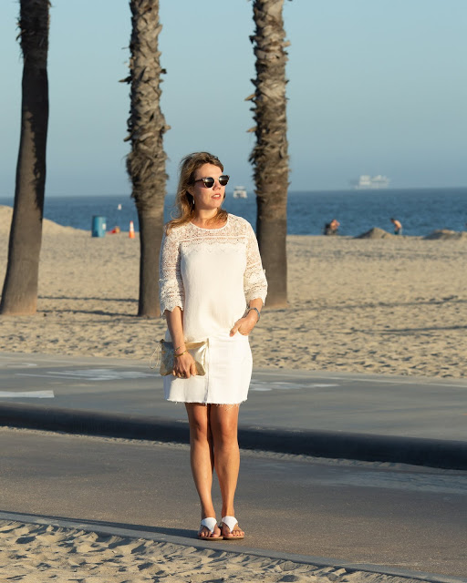 #AmericanClassic top of the world ootd readers fav Cheryl in a little white dress at the beach