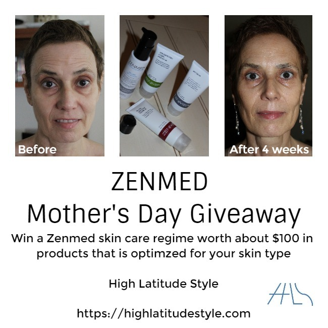 flyer for ZENMED Mother's Day giveaway