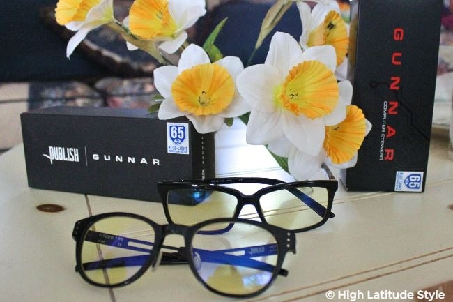 #Computerglasses Gunnar computer glasses with boxes