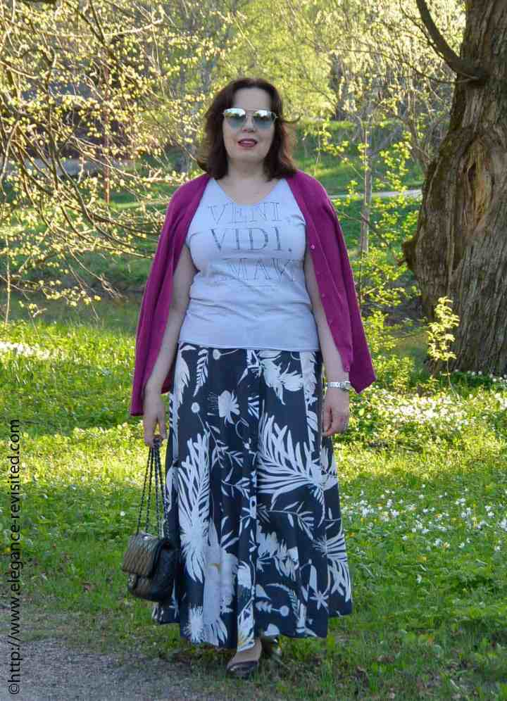 #linkup Top of the World Style Winner Tiina of Elegance Revisited